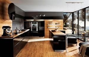 cuisine ouverte quelques exemples qui bouillonnent With meuble cuisine petit espace 16 escalier maison bois moderne deco maison moderne