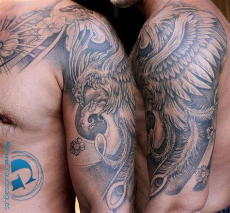 tatouage phenix par steven chaudesaigues  avignon