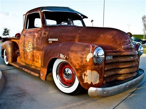 The Gallery For > Rusty Old Chevy Truck
