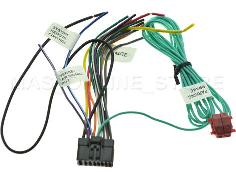 wire harness  pioneer avh pbh avhpbh pay today
