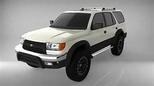 Toyota 4runner Limited 2000 3d Model