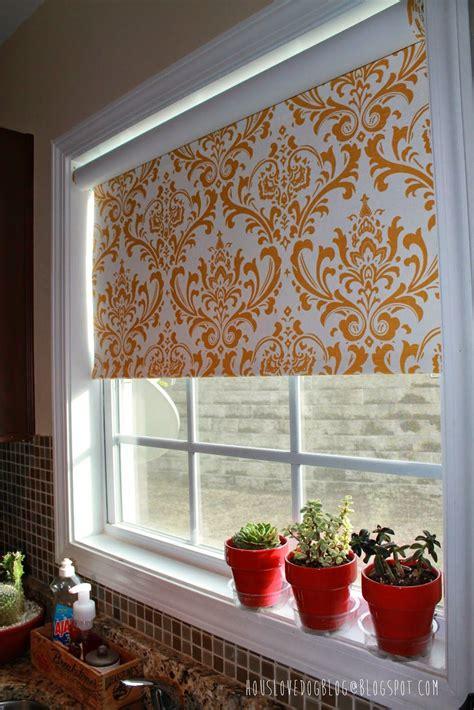Fabric Window Shades by Ikea Hack Fabric Covered Tupplur Blinds Houslovedogblog