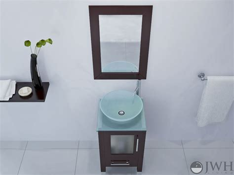 soft focus small bathroom vanity glass bathgemscom