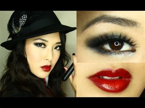 gangster smoky eye  halloween youtube