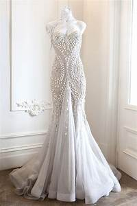opulent pearl designed wedding outfits ideas weddings eve With pearl wedding dress