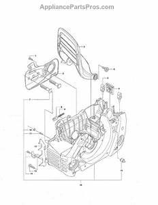 Parts For Husqvarna 455 Rancher  Crankcase Parts