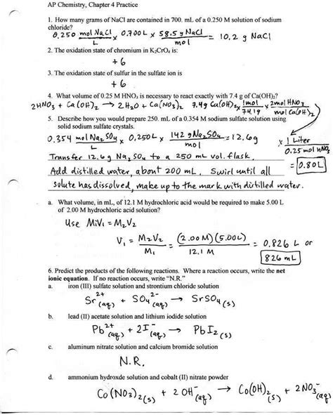 Stoichiometry Worksheet 2 Homeschooldressagecom
