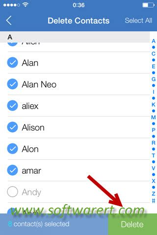 how to select all pictures on iphone how to select and delete or all contacts on iphone
