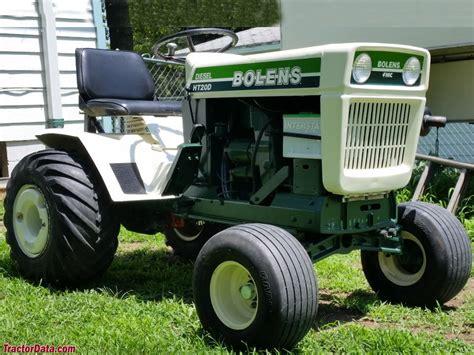 TractorData.com Bolens HT-20D tractor information
