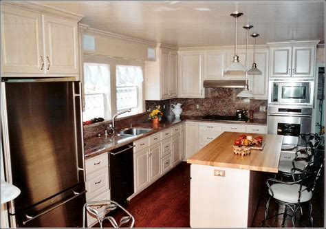 White Mission Style Kitchen Cabinets  Home Design Ideas