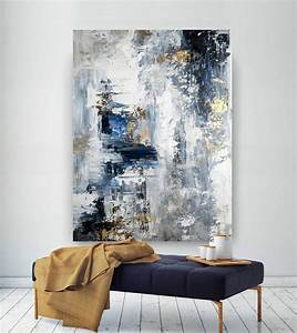 Large, Abstract, Painting, Modern, Abstract, Painting, Oil, Hand