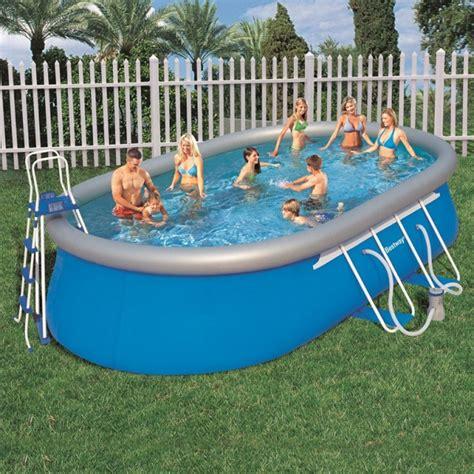 entretien eau piscine gonflable kit piscine hors sol pas cher ovale 549 x 366 h 122 id piscine