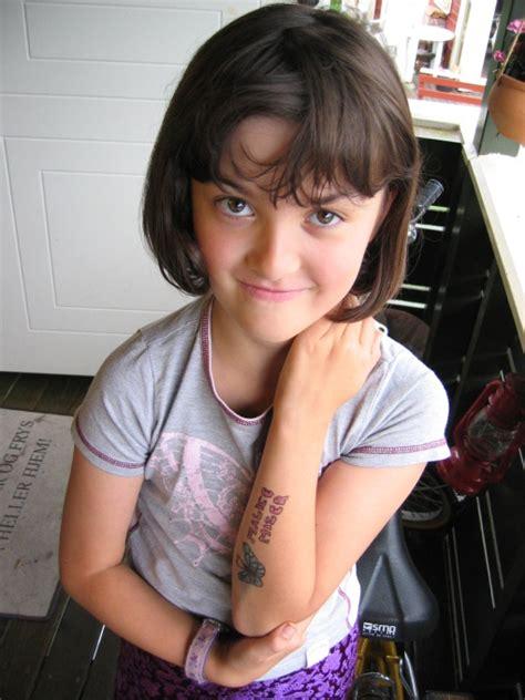 Kids Tattoo for Little Girl - SheClick.com