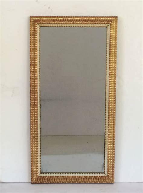 large french gilt rectangular wall mirror