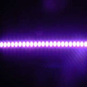 purple led light bar china led light bar 3mm led purple st 0 5 6w llb