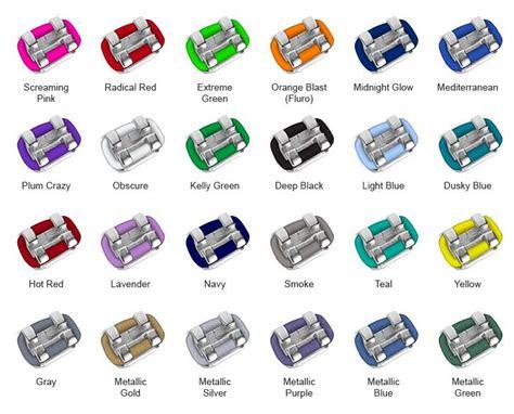 best colors for braces 25 best ideas about braces colors on nail