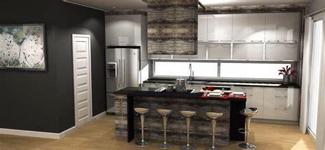 plan 3d cuisine cuisine moderne coaticook maison moderne