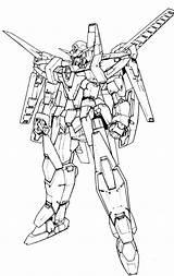 Kolorowanki Gunpla Otakurevolution Lineart Wydruku sketch template