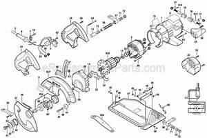 Bosch cs10 parts list and diagram 0601672039 for Circular saw diagram