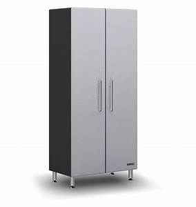 Furniture Tall White Storage Cabinet With Doors Upper And