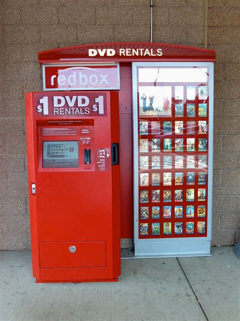 Images of Redbox Movie Rental Machines