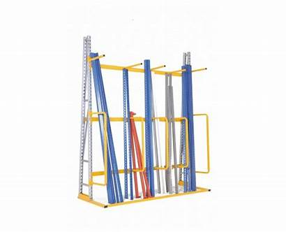 Vertical Shelving Loads Provost Racking Cantilevered
