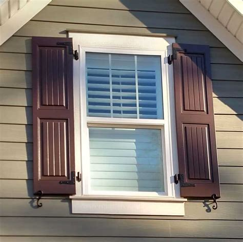 Exterior Shutters  Palmetto Window Fashions  Shutters