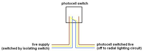 Wiring Photocell Switch Unit But Not Inline Diy Forums