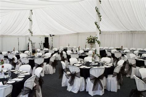 silver and black wedding ideas