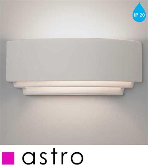 astro amalfi 380 ip20 wall light white finish 7470