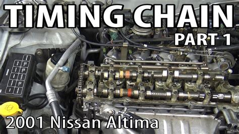 nissan altima timing chain  oil pump replacement