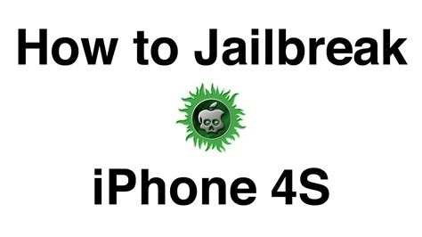 how to jailbreak an iphone 4s how to jailbreak iphone 4s untethered with absinthe