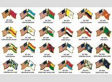 page 5 world flag USA friendship pins