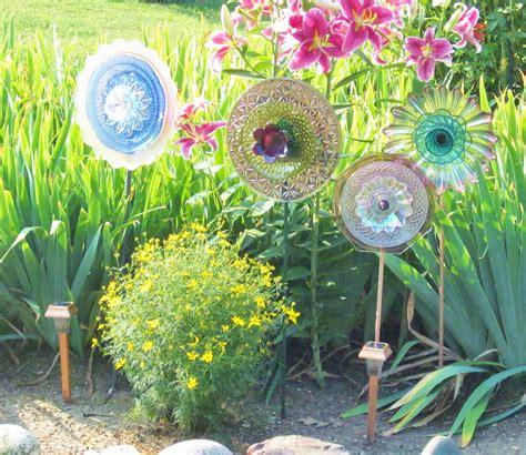 Garden Decorations Sale by Unique Garden Decor Yard Photograph Sale Recycled Glas