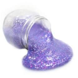 Galaxy Glitter Slime Recipe