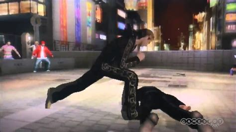 yakuza black panthers  fight scene gameplay tgs