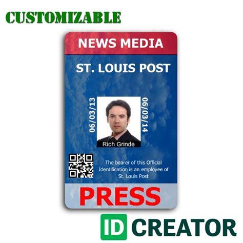 press pass template vertical press pass order in bulk from idcreator