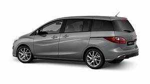 Der 7 Sitzer Mazda5 ist ein Familienauto mit niedrigem