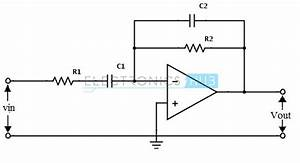 Active band pass filter circuit design and applications for Band pass filters