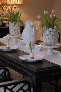 easter table decorations Top 47 Lovely and Easy-to-Make Easter Tablescapes ...