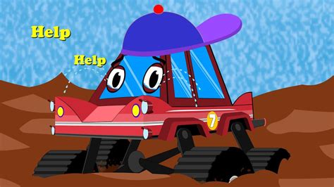 Little Red Truck Crying Stuck In The Mud