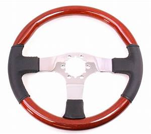Wood Steering Wheel Nos