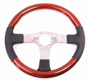 Wood Steering Wheel Nos