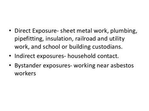 asbestos related lung disease