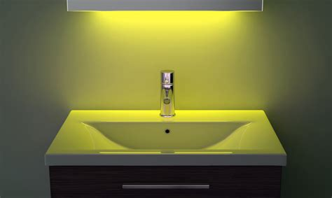 Ambient Shaver Led Bathroom Illuminated Mirror With