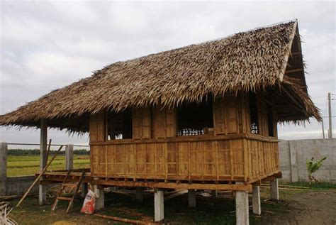 "We Build A ""bahay Kubo"" Bamboo Guest House  My Philippine"