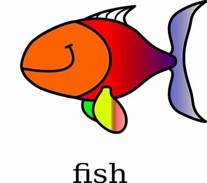 Fish Clker Clip Clipart Domain Royalty