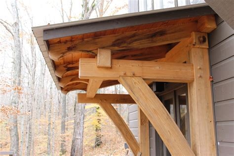 timber frame porch heavy timbered porch timber frame awning heavy timbered awning