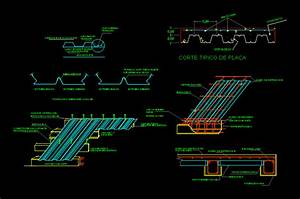 Metal Deck Construction Details DWG Detail for AutoCAD