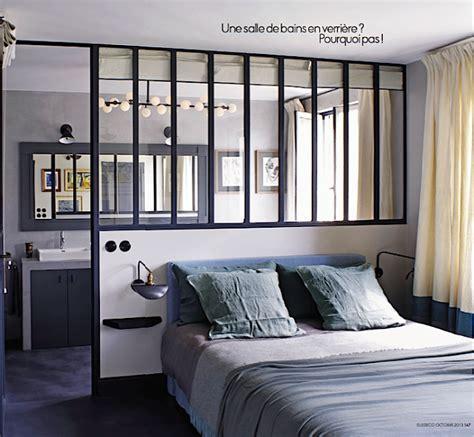 separation de chambre tête de lit et séparation en verrière idée chambre